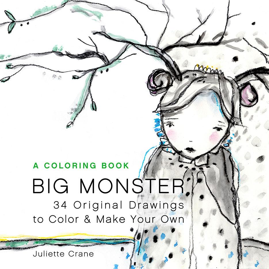Big Monster Coloring Book